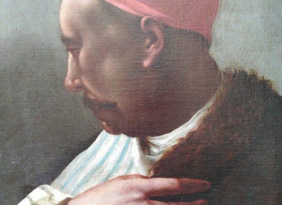 Giuseppe Angeli (attr.), Testa orientale