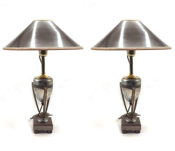 coppia di lampade