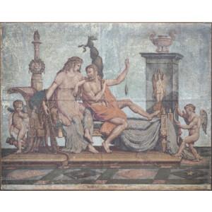 Ercole e Onfale, Artista Francese - XIX Secolo