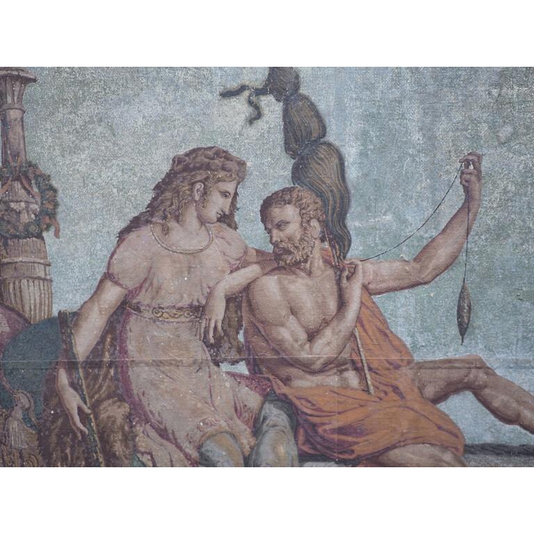 Artista Francese, Ercole e Onfale - XIX Secolo