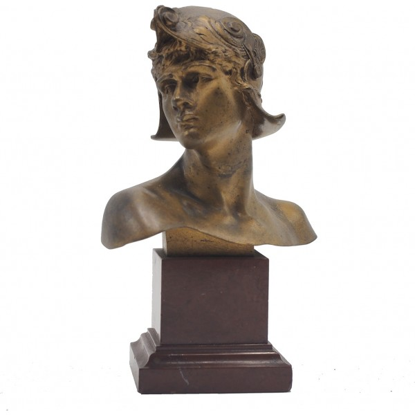 Emmanuel Hannaux, Piccolo Busto - XIX Secolo
