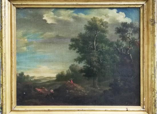 Scuola romana del XVIII secolo, Paesaggio
