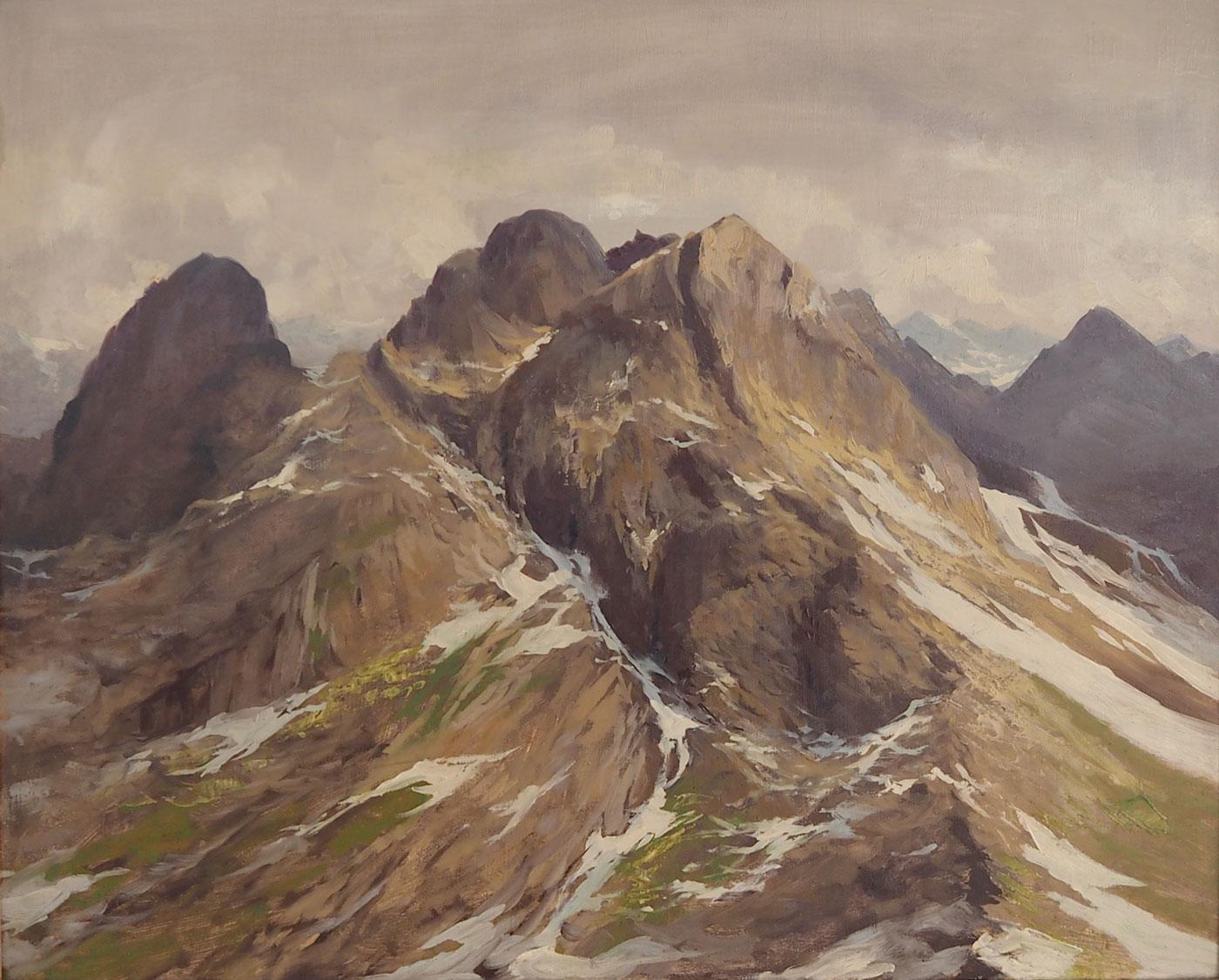 Strauss - Veduta di montagna