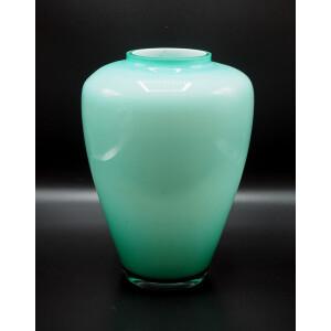 vaso in vetro di Murano incamiciato