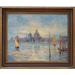 Artista anonimo, Veduta di Venezia - XX Secolo