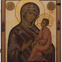 Icona Madre di Dio di Tichvin - Russia, XIX Secolo