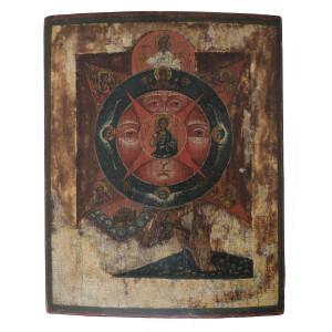 Icona Occhio di Dio - Russia, XVII Secolo