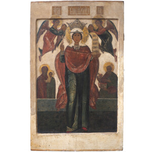 Icona Santa Parasceva - Russia, XVII Secolo