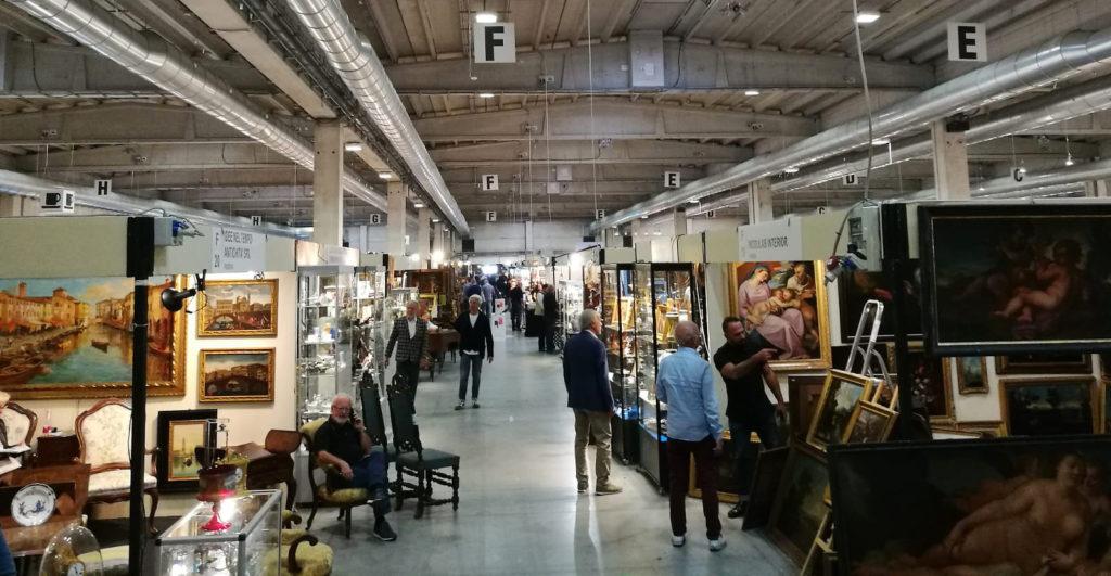 Mercanteinfiera 2019 Parma: istantanea padiglione 3