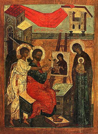 icona Luca Evangelista