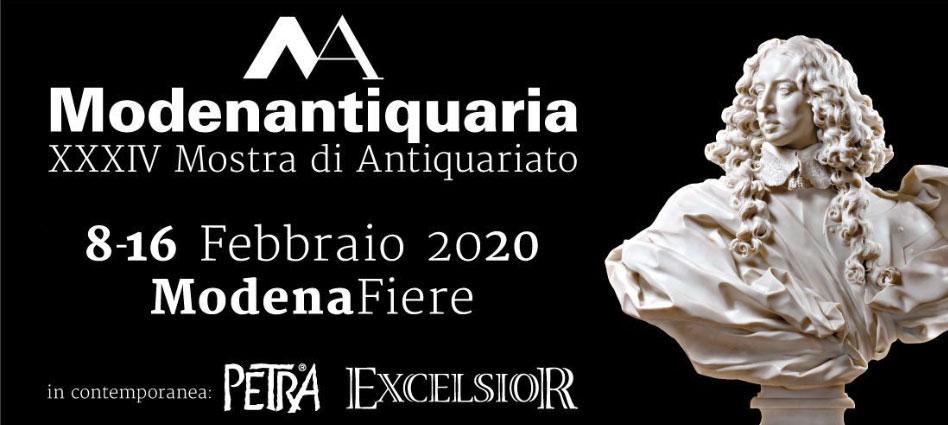 Modenantiquaria 2020, a breve al via la nuova edizione