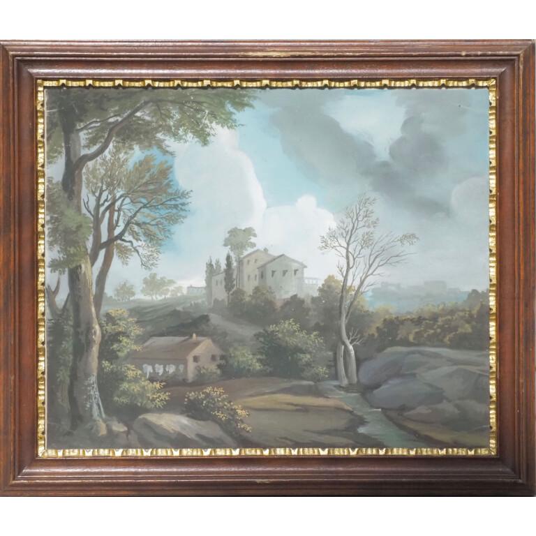 Quattro Paesaggi Dolomitici - Veneto, XIX Secolo