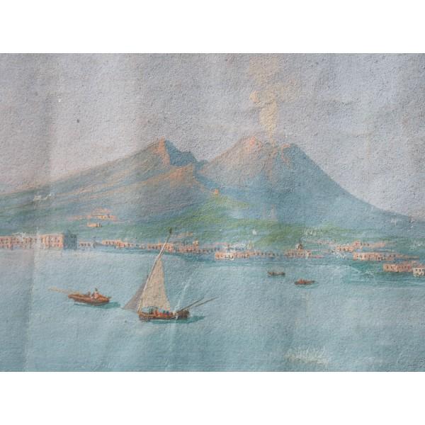 Guache Napoli da mare