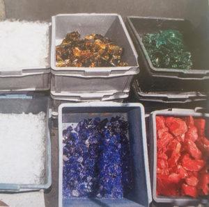 I colori del vetro di Murano
