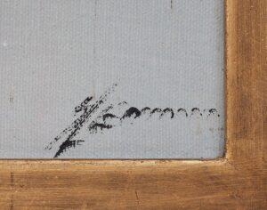Paesaggio lagunare - firma