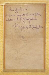 Alcide Davide Campestrini, San Girolamo - Retro