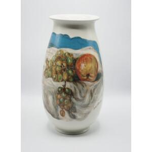 Giorgio De Chirico, Vaso Vita Silente in Porcellana di Limoges - 1985