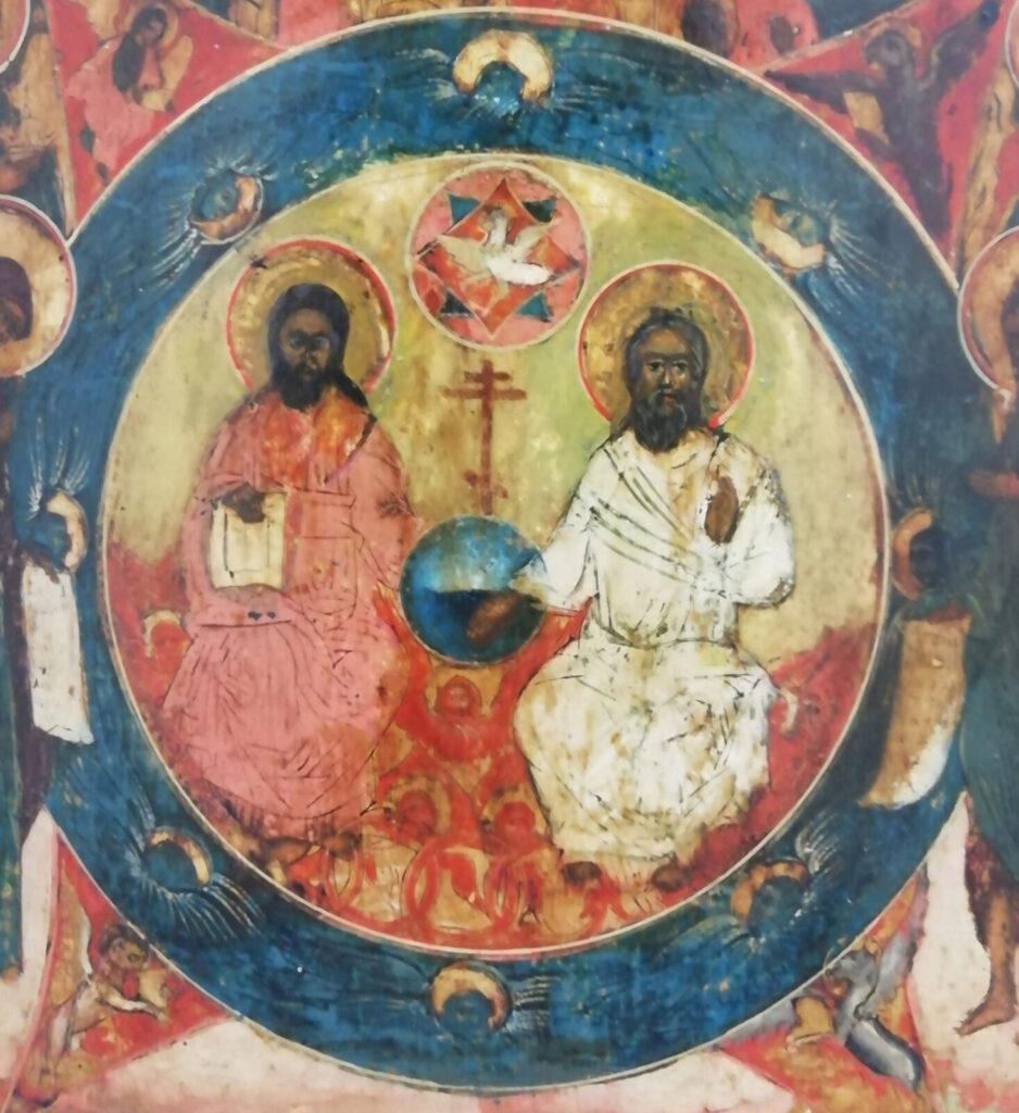Icona Trinità del Nuovo Testamento - Russia, XVIII Secolo