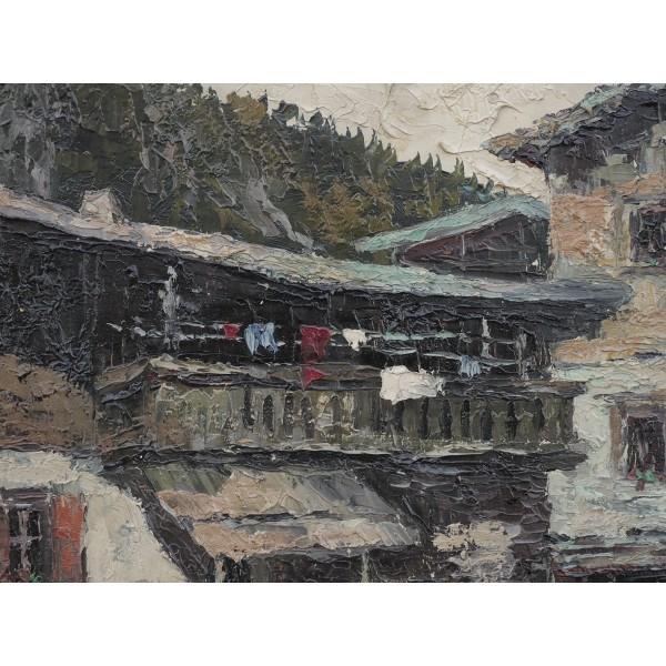 Willy Jager Paesaggio alpino