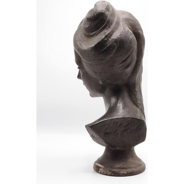 Pino Cioffi, Testa di Donna in Terracotta - 1950