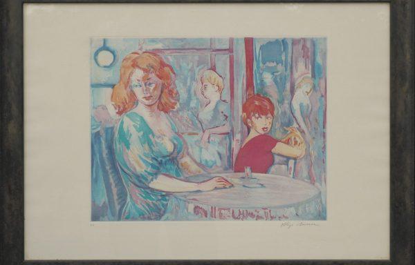 Aligi Sassu, Paola e Laura – 1989