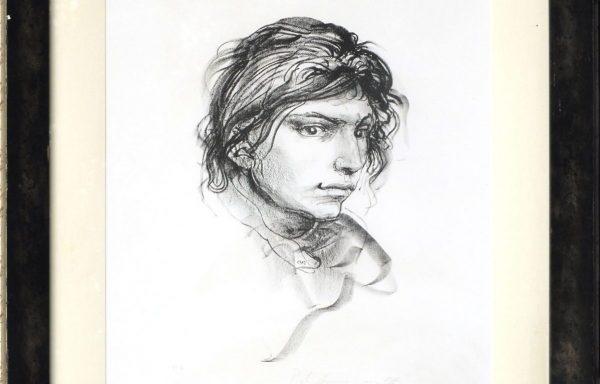 Pietro Annigoni, Ritratto Femminile
