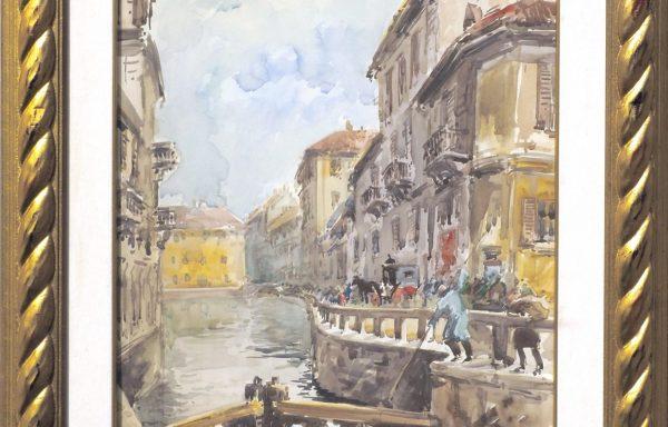Antonello Zecca, Milano Scomparsa – Naviglio di San Marco