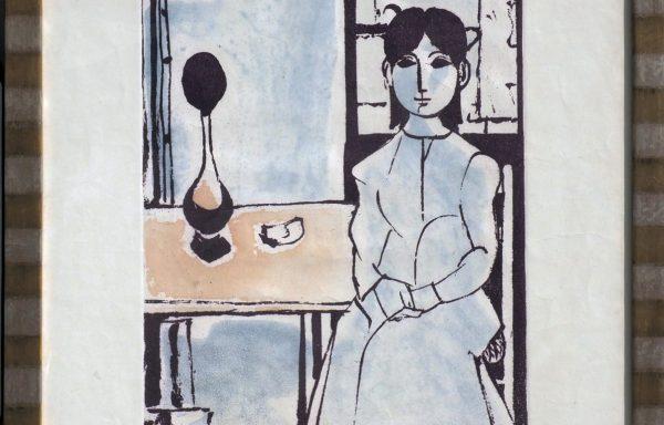 Domenico Cantatore, Ritratto di Donna Seduta